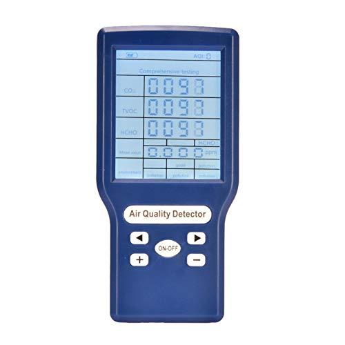 Luftqualitätsdetektor, CO2-Sensor-Messgerät, einfacher und zuverlässiger Mini-Protable-Kohlendioxid-Detektor, geeignet für den Einsatz in Haushalten, Büros, Unternehmen, Regierungen und Schulen