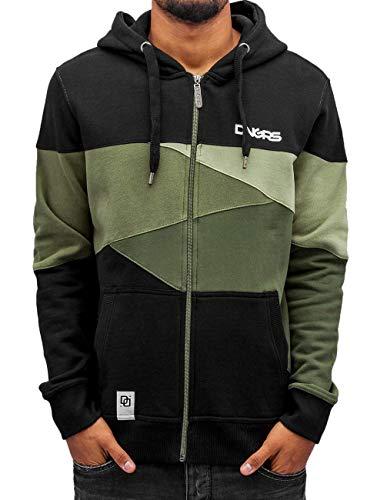 Dangerous DNGRS Männer Herren Limited II Kapuzen Jacke Pullover Camouflage M