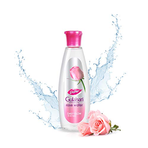 Dabur Gulabari Premium Rose Water – Natural, 250 ml