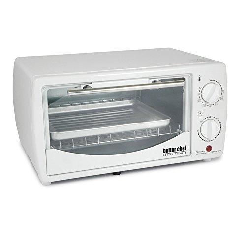 Better Chef 9 Liter Toaster Oven Broiler White