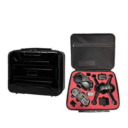 Riou Borsa da Trasporto Protettiva Cover Case, Guscio Rigido Valigia per DJI FPV Combo,Borsa di Grande Capacità Custodia per Trasporto e Protezione Accessori Drone 370x170x90mm/390x310x170mm