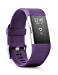 Fitbit Charge 2 Heart Rate + Fitness Wristband, Plum, Large (6.7 - 8.1 Inch) (US Version) (Renewed)