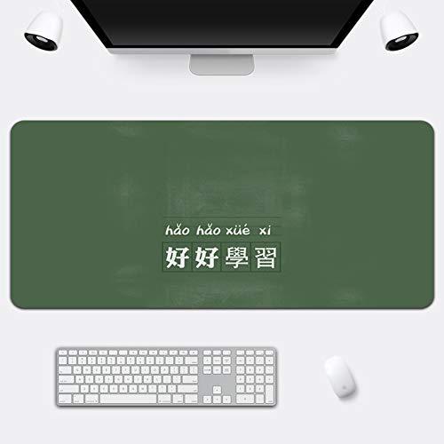 Z IMEI Verlängert Pu Laptop-Tastatur-Maus-pad Spiele Mauspad Desk-pad-Protector Mit Komfortablen Schreibfläche Wasserdicht Ultra Dünn 2 Mm-f 70x36cm/28x14inch