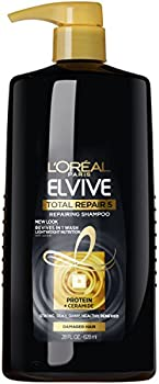 3-Pack Loreal Paris Elvive Total Repair 5 Repairing Shampoo, 28 Fl Oz