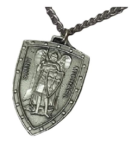 Inspire Nation St Gerard Pewter Pendant Medal on Stainless Steel Chain with Gift Box