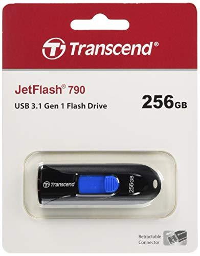 Transcend 256GB JetFlash 790 USB 3.1 Gen 1 USB Stick TS256GJF790K