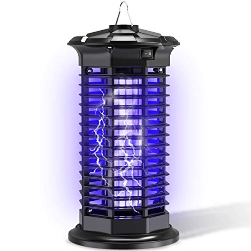 HOP Bug Zapper Electric Mosquito Killer Powerful Flying Insect Killer Electronic Mosquito Attractant Trap Indoor Bedroom Kitchen Office