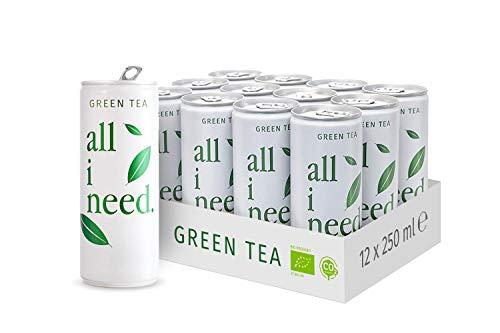 all i need. Green Tea, 12er Pack (12 x 250 ml), 50166245000000