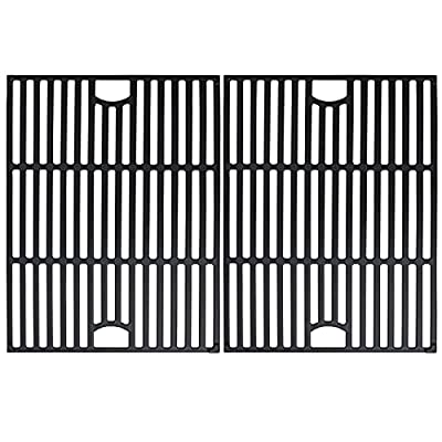 Uniflasy Matte Cast Iron Grill Accessories Cooking Grid Grate Replacement Parts for Brinkmann, Kenmore 720-0670a, Nexgrill 720-0830H 720-0697 Members Mark, Uniflame, Kmart Model Grills Grate