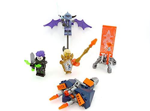 LEGO 5 Set Nexo Knights. Lance, Fred, Merlok 2.0, Steinstampfer und Stone Giant