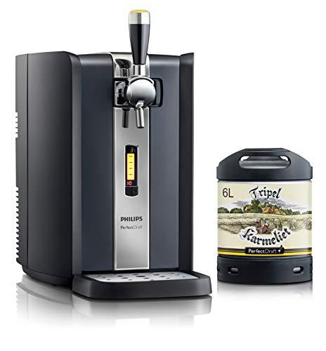 Dispensador de cerveza PerfectDraft de 6 litros. Incluye 1 un barril de 6 litros - Cerveza de trigo. Incluye un depósito de 5 euros. (Tripel Karmeliet)