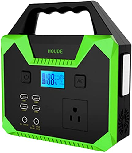 Arrancador de Coches, Fuentes de alimentación Entrega Ladrillo Coche Batería Starter Starter Al Aire Libre Portátil 220V 200W 5V 9V 12V 40800mAh, WQQWQQ-8521 (Color : Green)