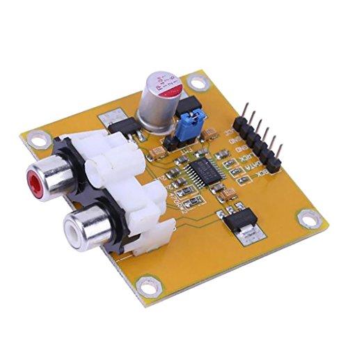 REFURBISHHOUSE PCM5102 DAC Decoder I2S Spieler jenseits ES9023 fuer Raspberry Pi