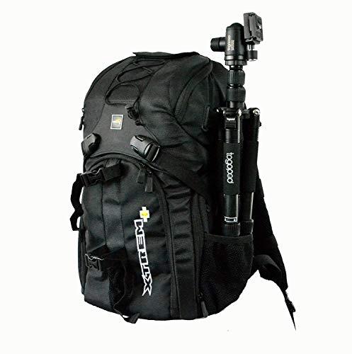 XTREMplus Active Cube M Rucksack - Premium Kamera Fotorucksack - Foto Rucksack mit Zugriff über die Seiten - Slingbag - (H:47cm B:27cm T:22cm Gewicht:1,39kg)