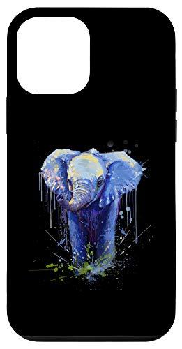iPhone 12 mini Elephant Artwork - Big Mammal Elephant Artwork Gift Case
