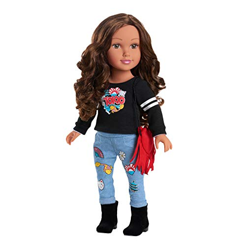 Journey Girls Kyla Doll, Amazon Exclusive, Multicolor, 18 Inches