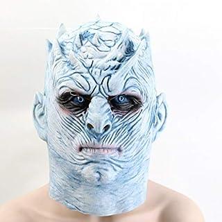 Juego De Tronos Noche Máscara De Halloween King Walker Cara Noche Re Zombie Máscara De Látex Adultos Cosplay Trono Disfraz Fiesta Máscara