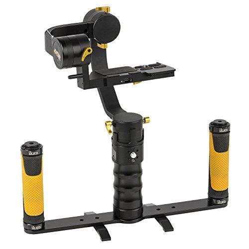 IKAN DS1-DGH-KIT DS1 Beholder Gimbal und Dual Grip Handle Kit für DSLR und Mirrorless Kamera schwarz