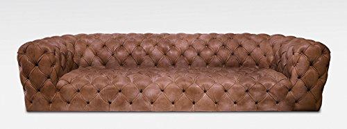 Chester Moonn Luxus Leder Sofa