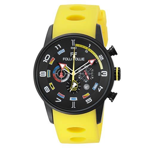 [フォリフォリ] 腕時計 REGATTA WT13Y003ZE-YYE メンズ イエロー [並行輸入品]