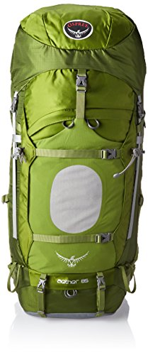 Osprey Men's Aether 85 Backpack, Bonsai Green, Small