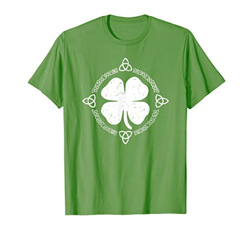 Irish Shamrock Green Clover Celtic Knot St Patrick's Day T-Shirt