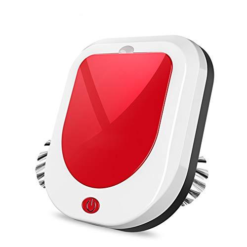 JQRXCQ Robot Aspiradora Barrido Robot Barrido Succión y Arrastre Una casa Inteligente,Rojo