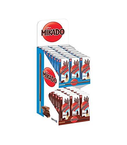Espositore Mikado Pocket 48 Pz Linea Bar 39 Gr Cadauno Mix 36 Latte 12 Fondente