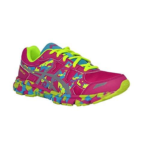 Asics - Zapatillas de running para mujer rosa HOT PINK/SILVER/BLUE ATOLL 17.5 rosa Size: 35.5