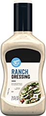 One 16-fluid ounce bottle of Happy Belly Ranch Dressing Filled with the flavor of herbs, garlic, and a slight hint of tangy buttermilk Perfect for salads, in dips and more No high fructose corn syrup Kosher If you like Wish-Bone Ranch Salad Dressing,...