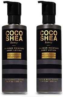 Bath and Body Works 2 Pack Cocoshea Honey 24 Hour Moisture Body Lotion 7.8 Oz.