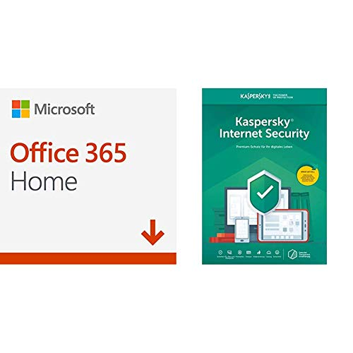 Microsoft Office 365 Home multilingual + Kaspersky Internet Security 2019 Standard 5 Geräte Online-Code