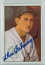 Charlie Gehringer AUTOGRAPH d.93 1982-83 Diamond Classics Detroit Tigers 1983