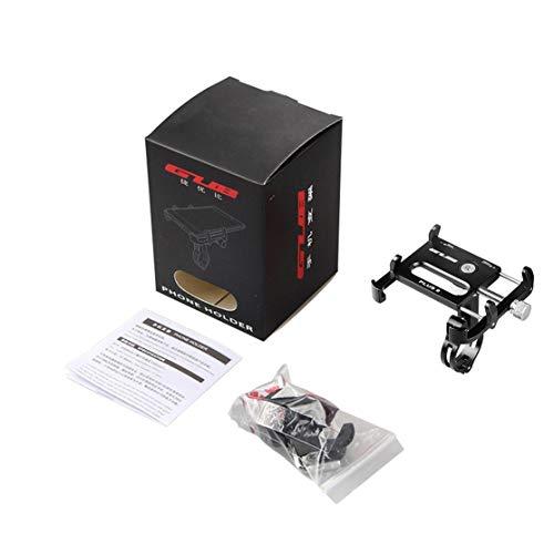 zhouweiwei 9 Soporte para teléfono móvil Todo aleación de Aluminio Bicicleta de...