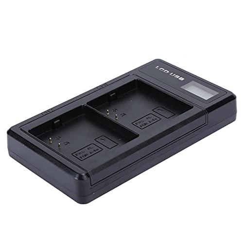Surebuy Cargador de Doble Ranura, Cargador Doble de batería de Entrada USB para Cargadores de Coche para Arlo Uitra
