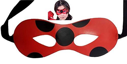 Masker - meisje - masker - accessoires - carnaval - jurk - origineel idee voor een verjaardagscadeau voor kerstmis ladybug