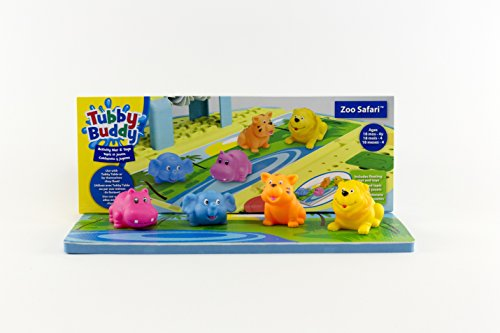 Tubby Table Tubby Buddy's Zoo Safari Activity Mat & Toys