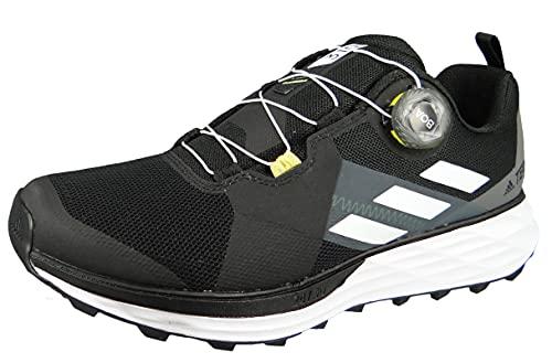 adidas Terrex Two Boa, Zapatillas de Trail Running Hombre, NEGBÁS/Balcri/Amasol, 40 EU