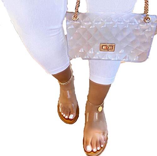 Xnhgfa Sandalias con Punta Abierta para Mujer Sandalias Planas Casual Sandalia Serpiente Planas Playa Sandalias Correa Verano Zapatos de Playa Romanas Plano Mulas