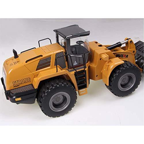 RC Auto kaufen Baufahrzeug Bild 6: FM- Electrics FM1583| Die Cast Metall-Radlader mit Sound 1:14 mit 10 Kanal Sender Huina 583*