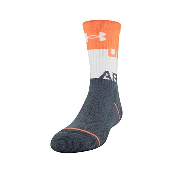 Under Armour unisex-child Phenom Crew Socks, 3-pairs