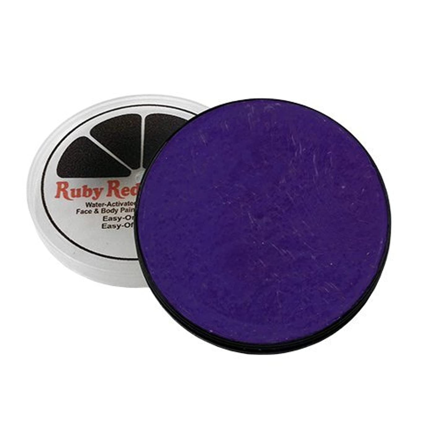 Ruby Red Paint Face Paint, 18 ML - Purple