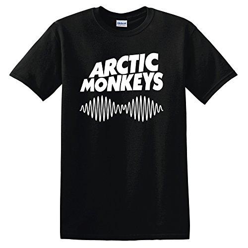Arctic Monkeys T Shirt Rock Fanshirt (Versch. Farben und Grossen) (Medium, Schwarz)