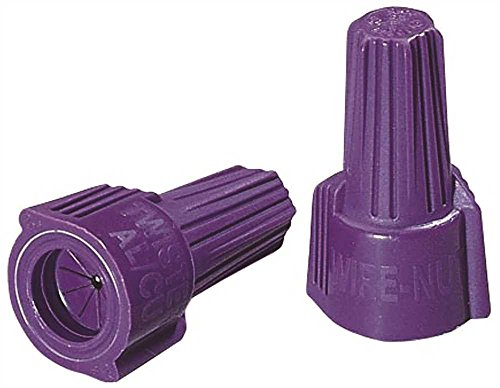 IDEAL 30-1765S Twister Al/Cu Wire Connector, 65 - Purple, 1 lb. (Pack of 10)