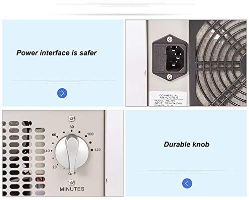 Acero Inoxidable Sawera Generador de Ozono port/átil O3 Generador de Ozono purificador de Aire Ozono M/áquina de Ozono