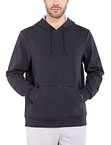 Baleaf Men's Heavyweight Hoodie Sweatshirt with Hood Fleece Line for Cold...