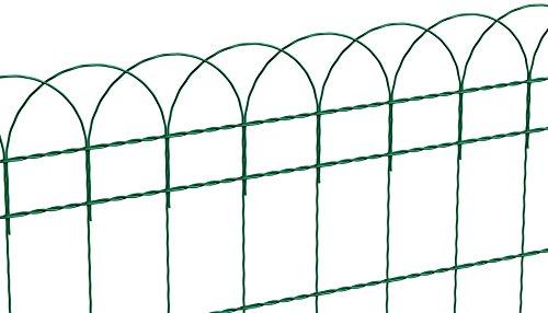 GAH-ALBERTS 611859 Ziergeflecht Rondo, grün, 650 mm Höhe, 10 m Rolle, Maschenweite: 150 x 90 mm