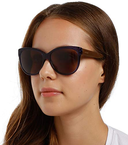 Max Mara Mm Tailored I Co 8Wi 57 Gafas de sol, Azul (Trbluee Tobacco/Red Brown), Mujer