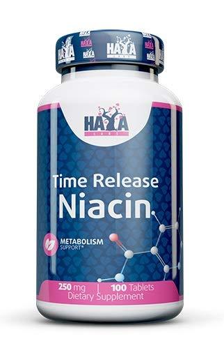 Haya Labs Time Release Niacin, 250 mg, 100 Tablets, 100 g