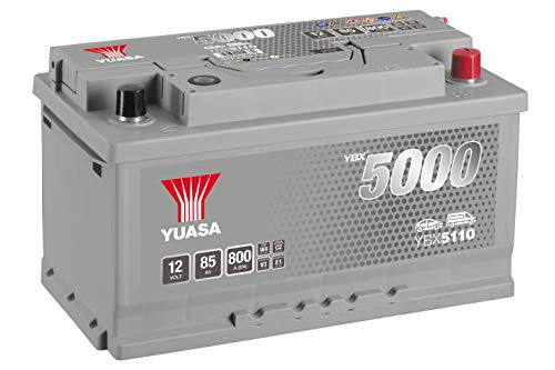 Yuasa YBX5110 12V 85Ah 800A Silver High Performance Battery